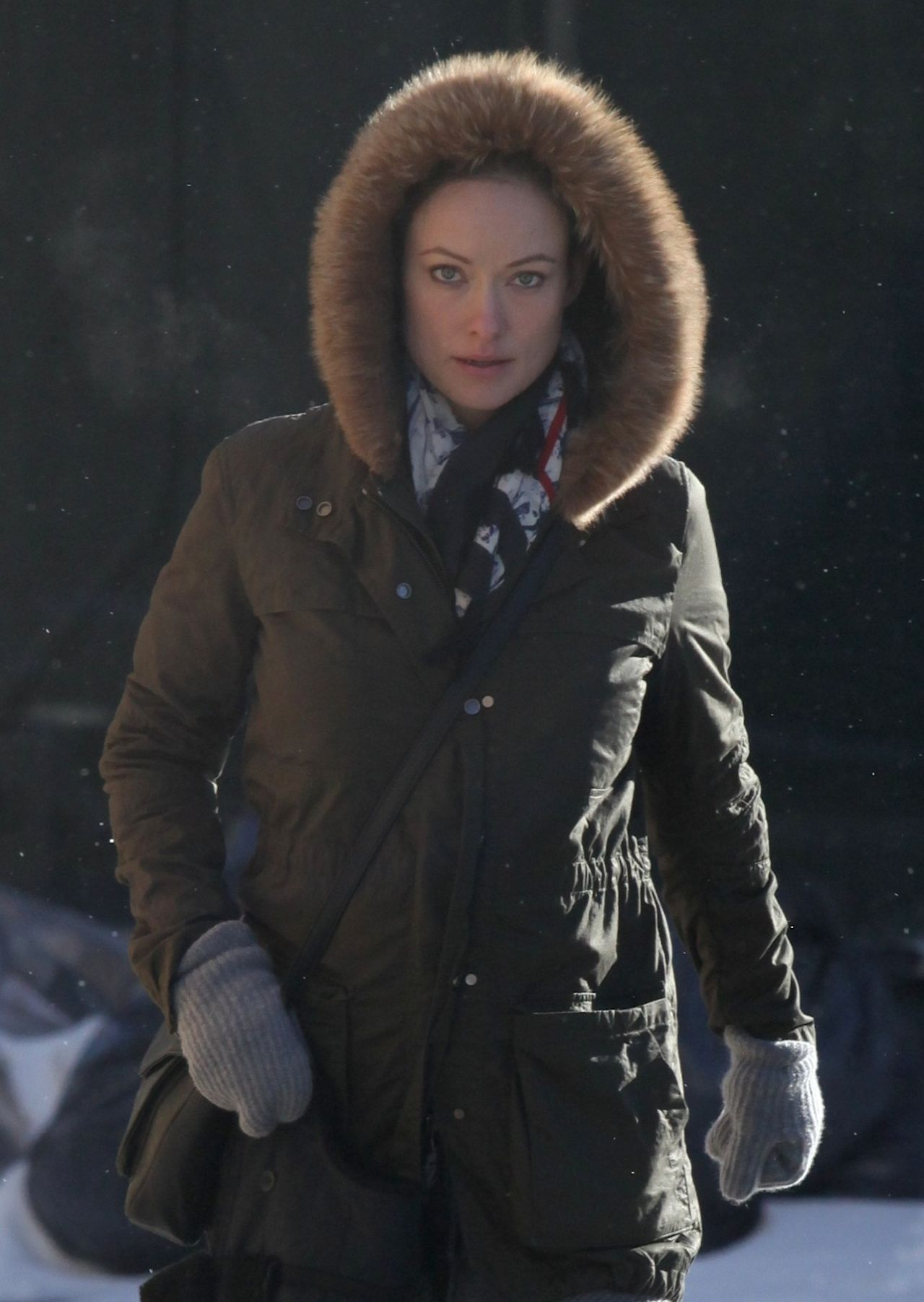 Olivia Wilde Winter Style - New York City - January 3rd, 2014