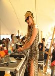 Paris Hilton at Vitaminwater Party - Restaurant La Colacola in Uruguay - January 2014