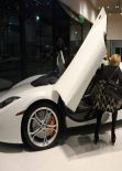 Paris Hilton Goes Shopping For A New MacLaren - January 2014