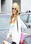Paris Hilton - Leaving a Hair Salon - Beverly Hills, January 2014