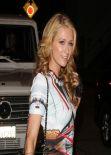 Paris Hilton Night Style - a birthday party at Craig