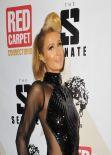 Paris Hilton Red Carpet Photos - Pre-Grammy Celebration at Boulevard3 - January 2014