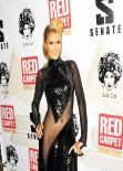 Paris Hilton Red Carpet Photos - Pre-Grammy Celebration at Boulevard3 - January 2014