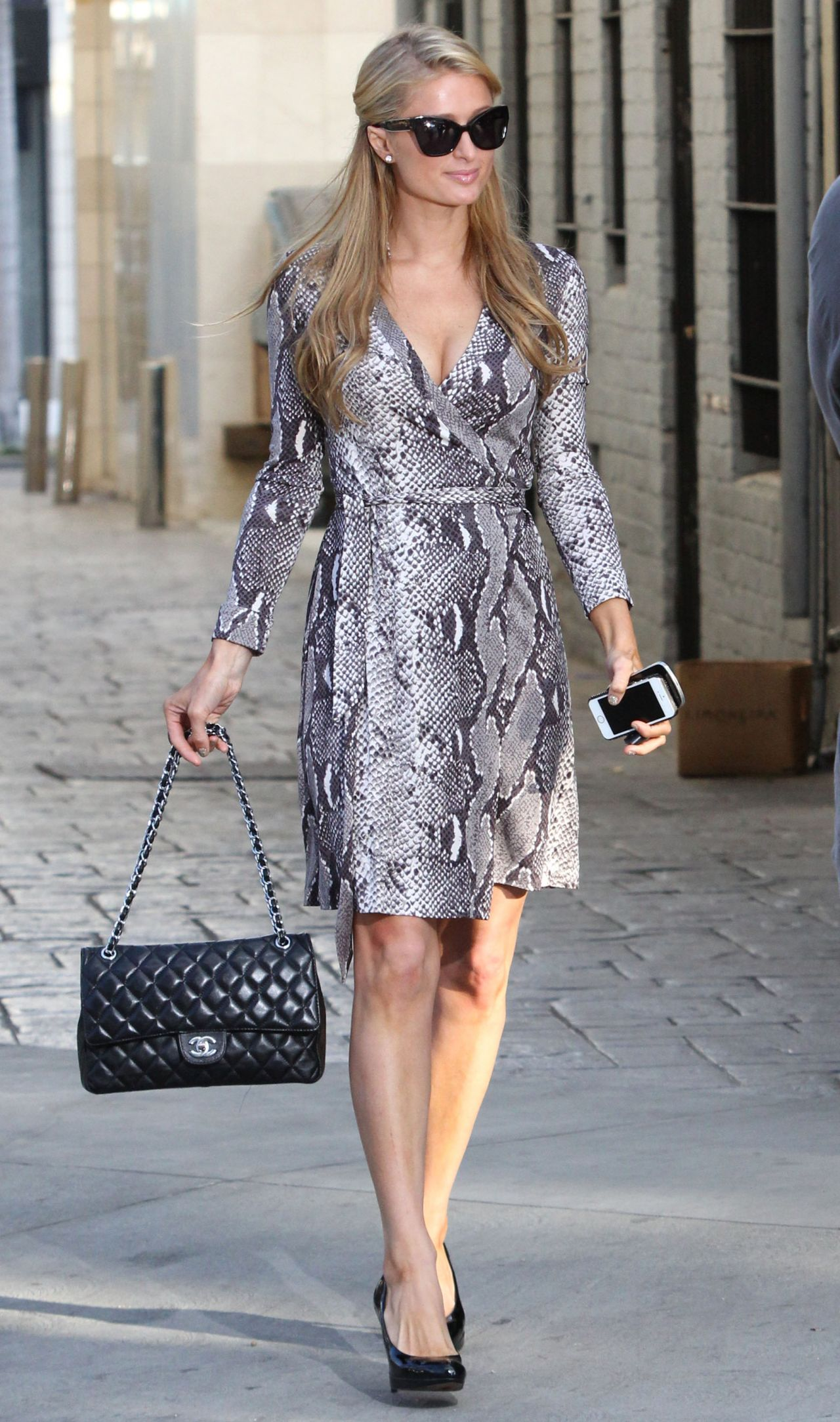 Paris Hilton Street Style Out In Beverly Hills Jan 2014