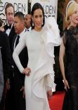 Paula Patton - 2014 Golden Globe Awards Red Carpet