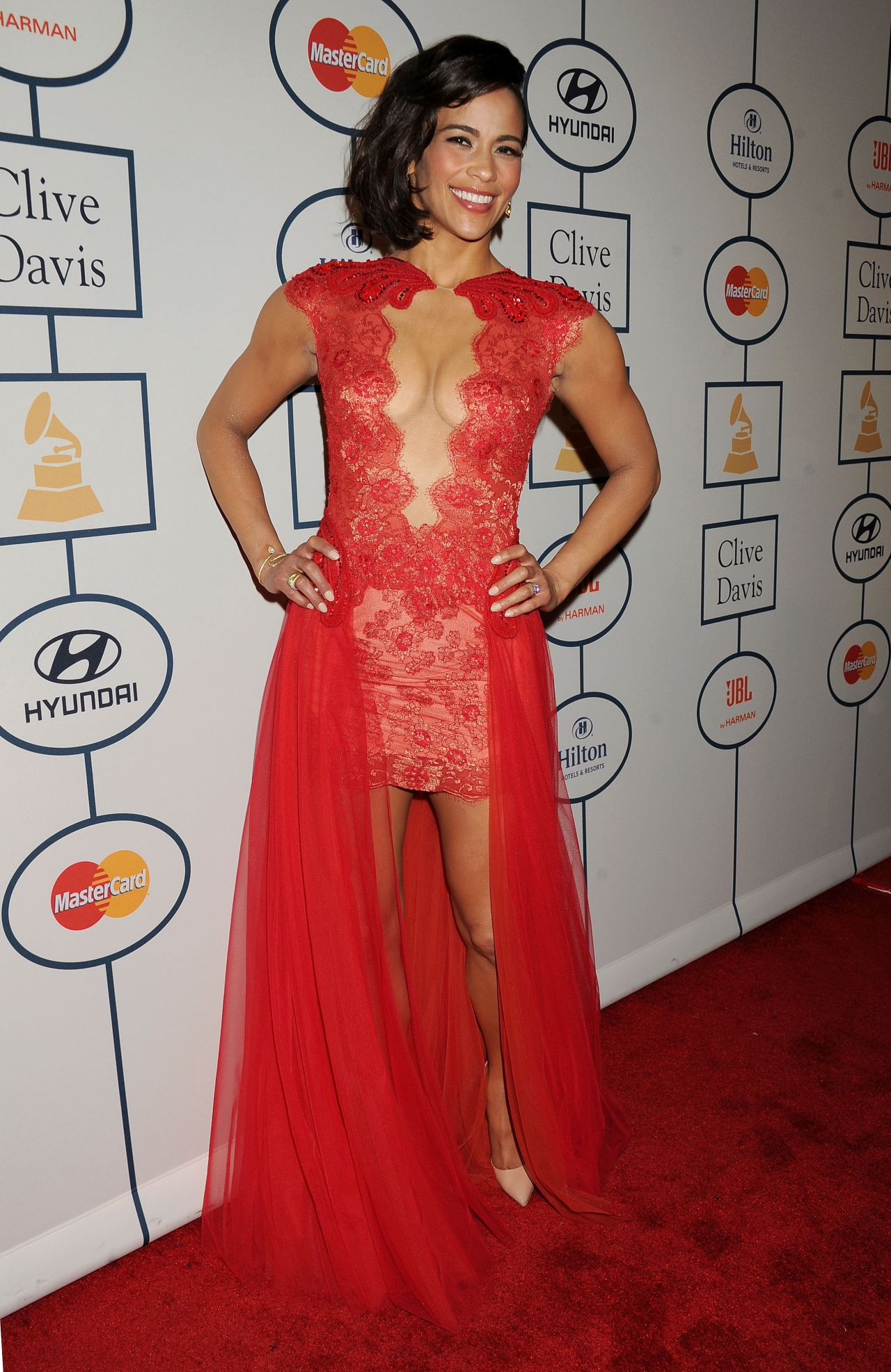 Paula Patton - Pre-GRAMMY Gala in Los Angeles – January 2014