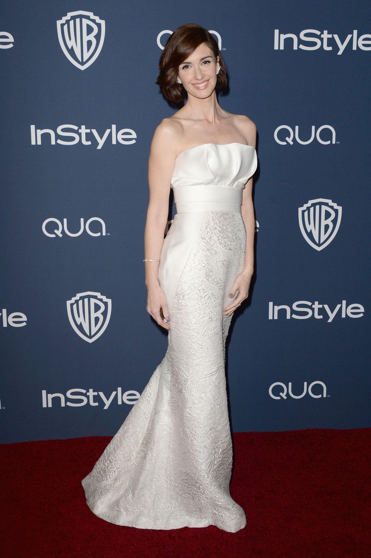 Paz Vega - InStyle & Warner Bros. 2014 Golden Globes Afterparty