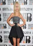 Pixie Lott on Red Carpet - The BRITs Are Coming, January 2014