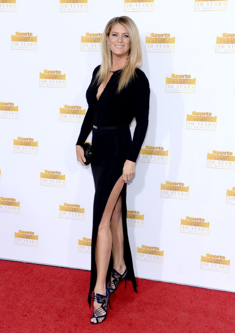 Rachel Hunter - 50th Anniversary of the SI Swimsuit Issue Celebration, January 2014