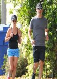 Reese Witherspoon - Candids While Out For a Jog in Santa Monica, January 2014