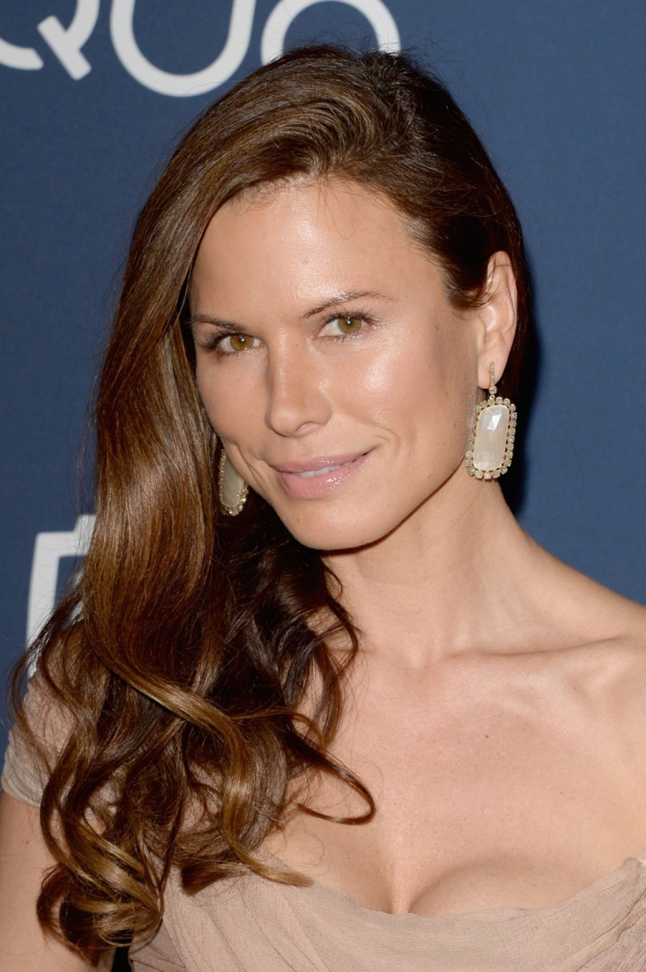 Rhona Mitra Attends InStyle & Warner Bros. 2014 Golden Globes After Party in Beverly Hills