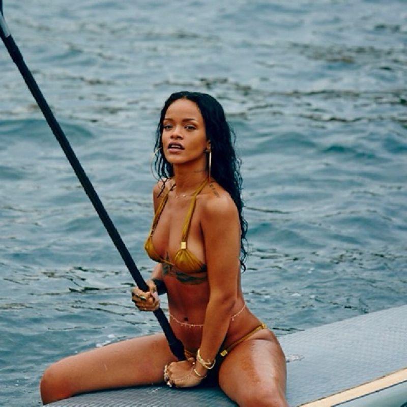 Rihanna Instagram Photos From Rio de Janeiro, January 2014