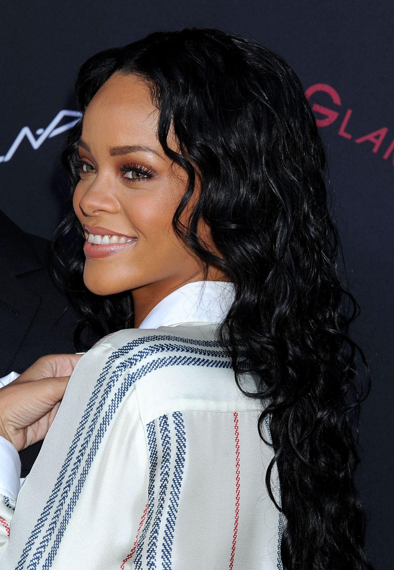 Rihanna Roc Nation Pre Grammy 2014 Brunch Beverly Hills