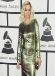 Rita Ora on Red Carpet - 2014 Grammy Awards