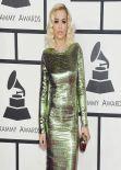 Rita Ora on Red Carpet - 2014 Grammy Awards