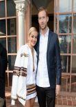 Rita Ora - Roc Nation Pre-Grammy Brunch Beverly Hills (2014)
