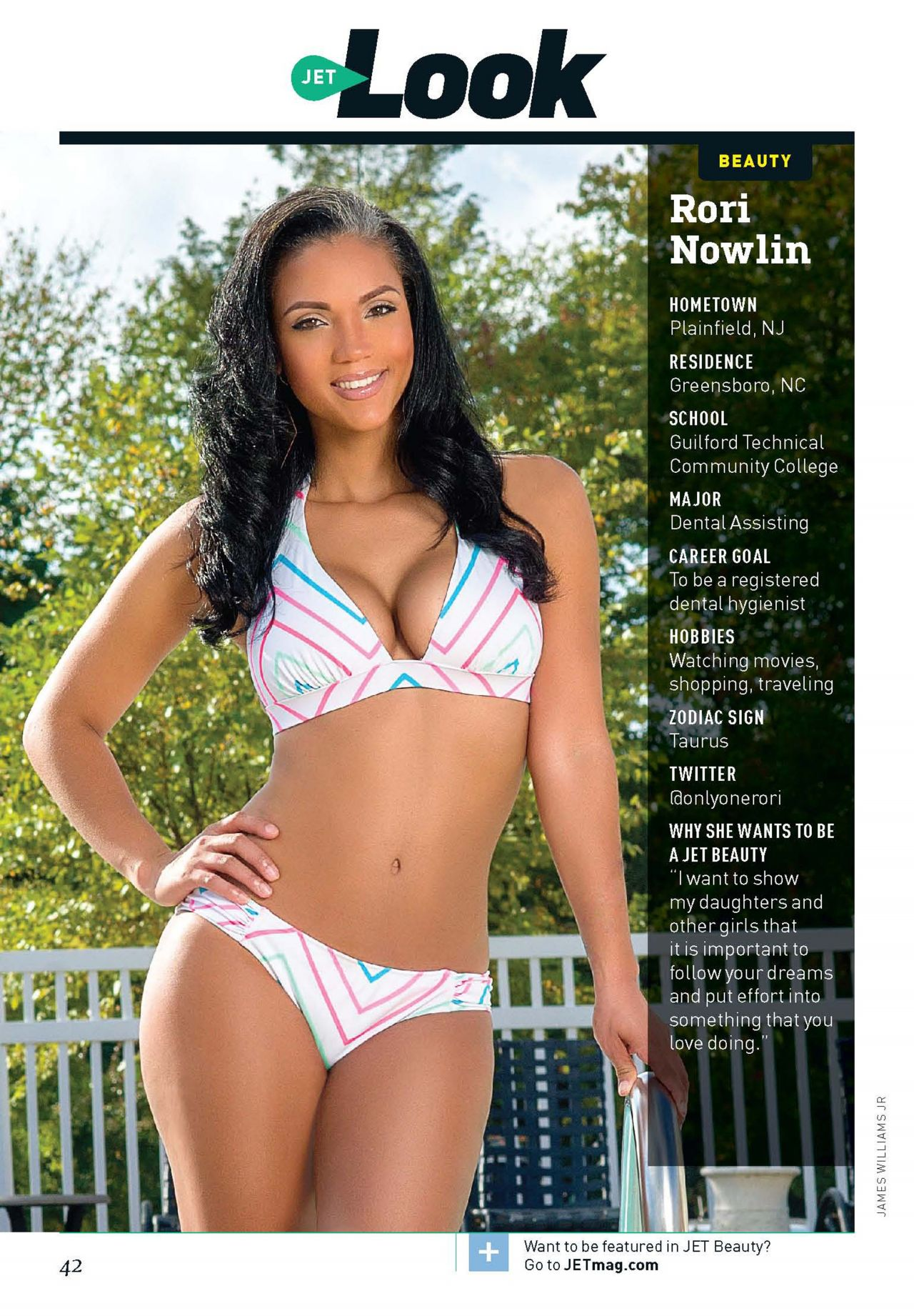 Rori Nowlin - JET Magazine - January 27, 2014
