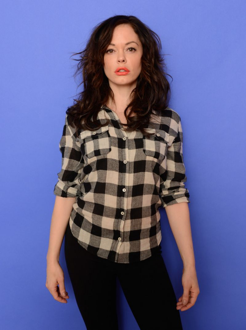 Rose McGowan - DAWN Portraits 2014 Sundance Film Festival in Park City, Utah