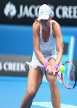 Sabine Lisicki - Australian Open in Melbourne, January 15, 2014