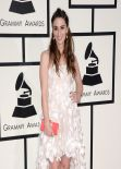 Sara Bareilles on Red Carpet - 2014 Grammy Awards