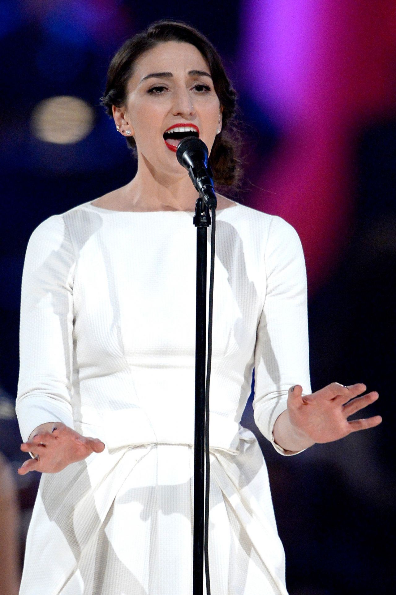 Sara Bareilles Performs at 2014 MusiCares Person of the Year Gala