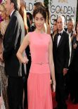 Sarah Hyland Wears George Hobeika - 71st Annual Golden Globe Awards 2014