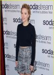 Scarlett Johansson Becomes the Ambassador for SodaStream - New York City January 2014