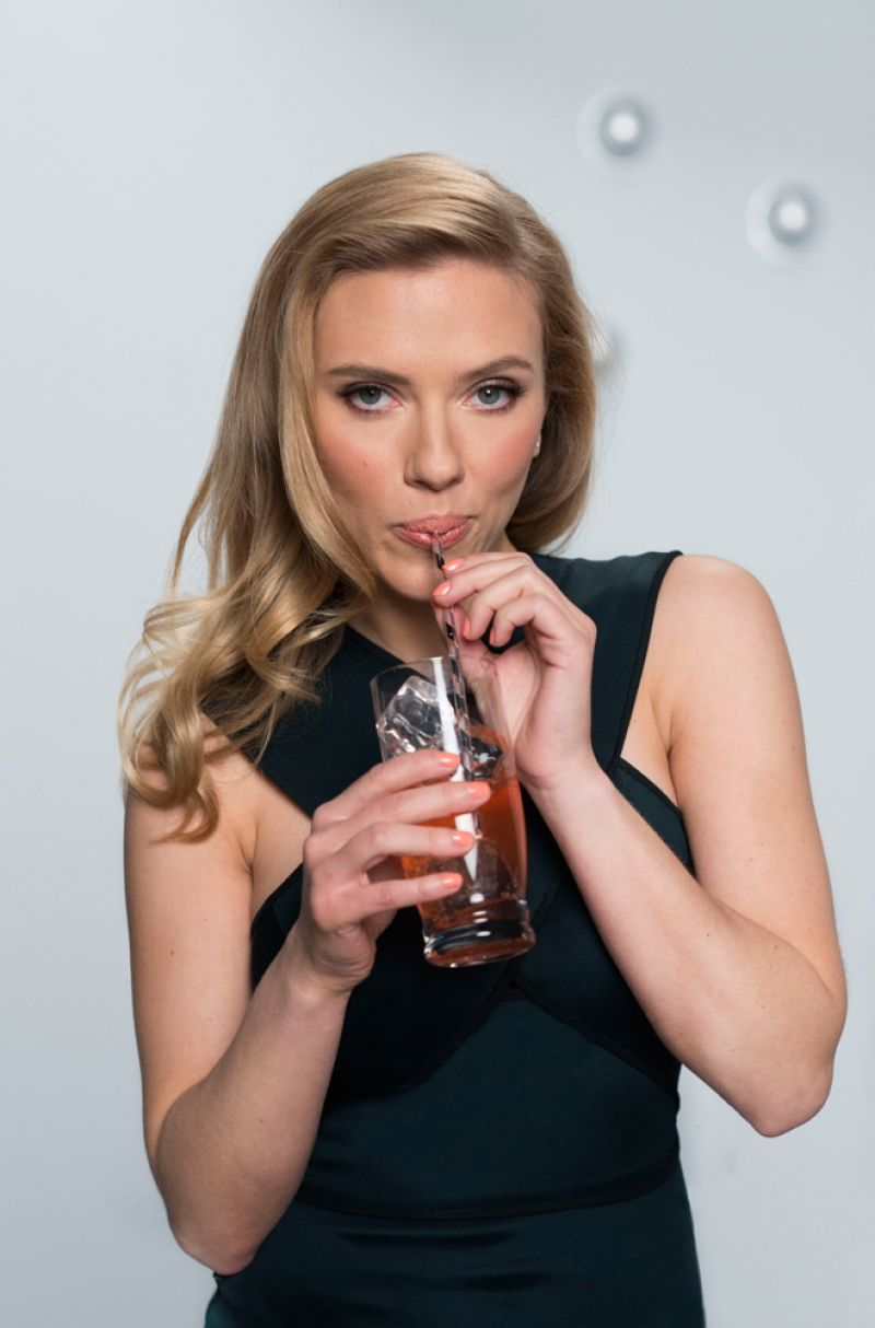 Scarlett Johansson Photoshoot for SodaStream 2014 Campaign