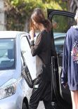 Selena Gomez - Leaving a Recording Studio in Santa Monica, January 2014