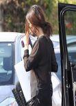 Selena Gomez - Leaving a Recording Studio in Santa Monica, January 2014