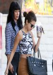 Selena Gomez Street Style - Out in Los Angeles - January 2014