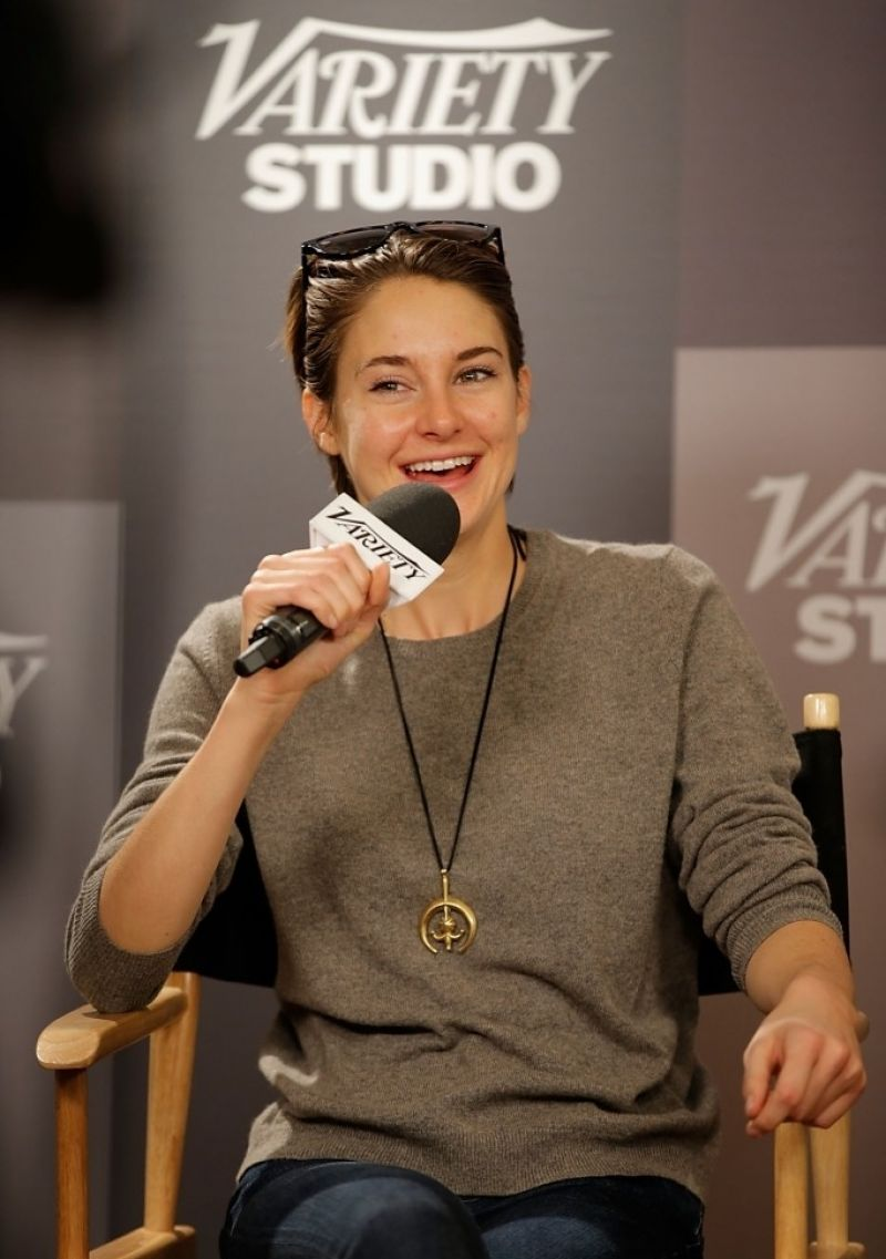 Shailene Woodley at Variety Studio: Sundance Edition in Park City, Utah January 2014