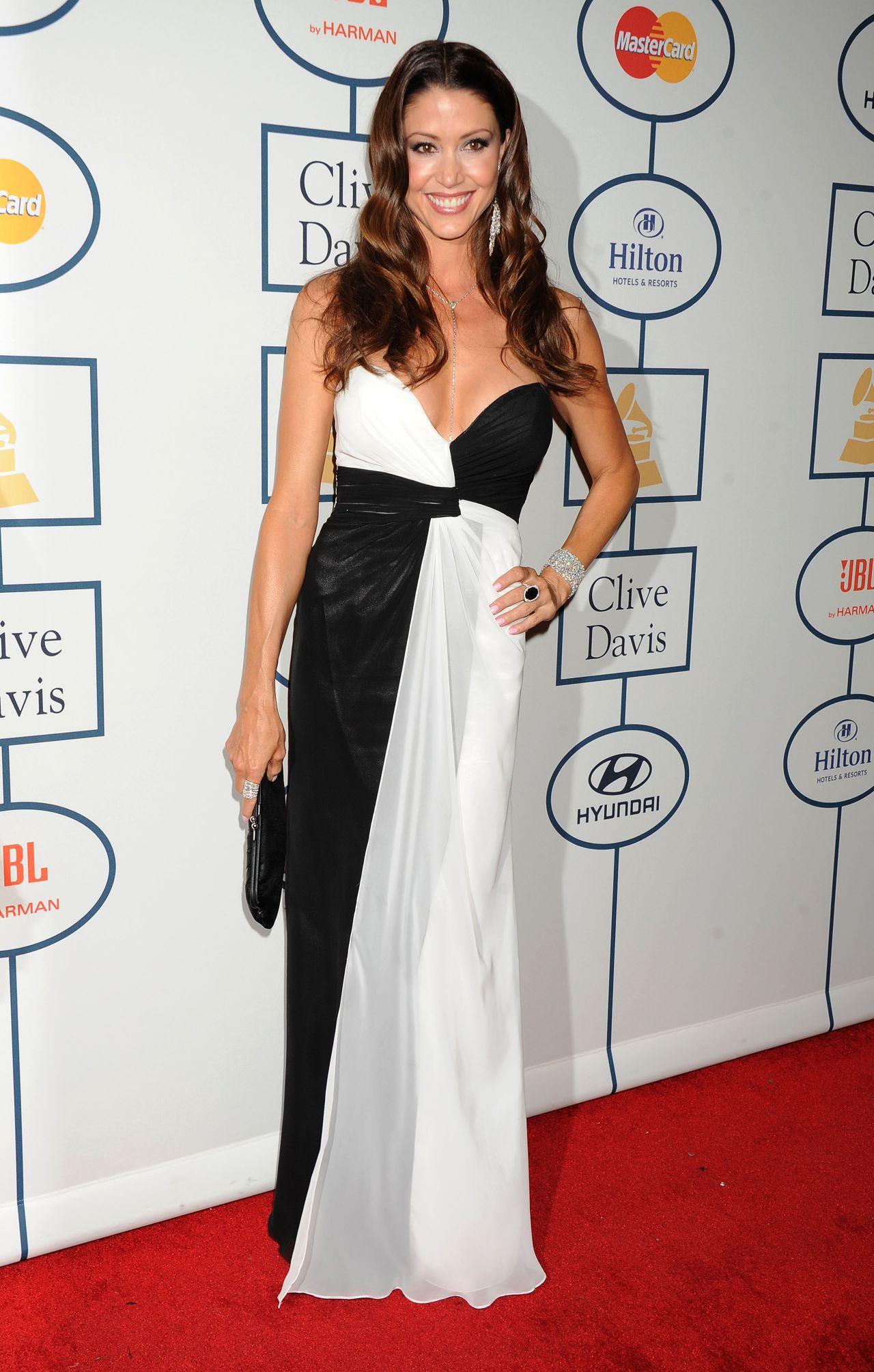 Shannon Elizabeth Pre Grammy Gala The 56th Annual
