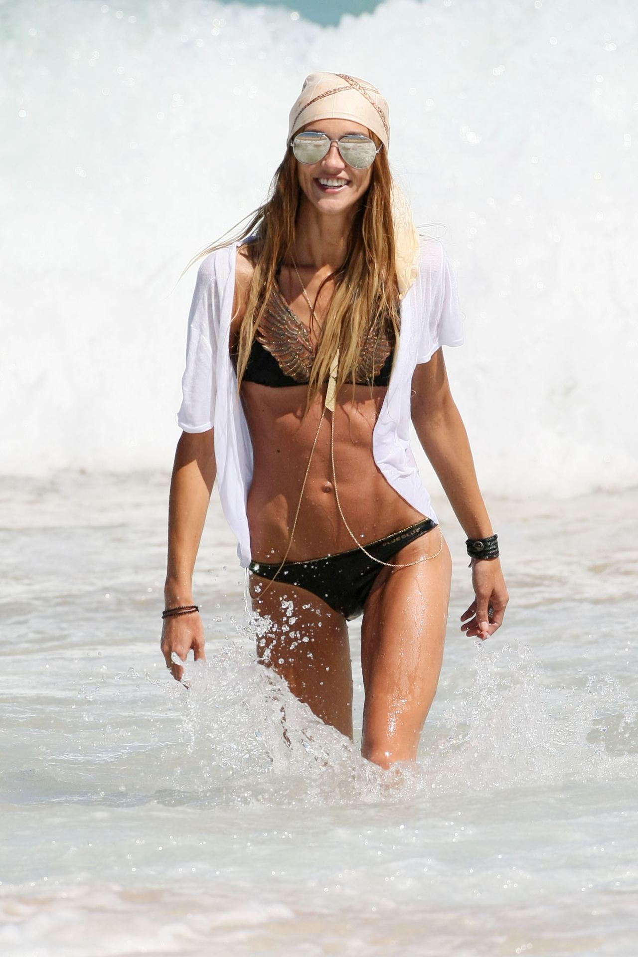 Sharni Vinson Bikini Photos - Cronulla Beach in Sydney - January 2014