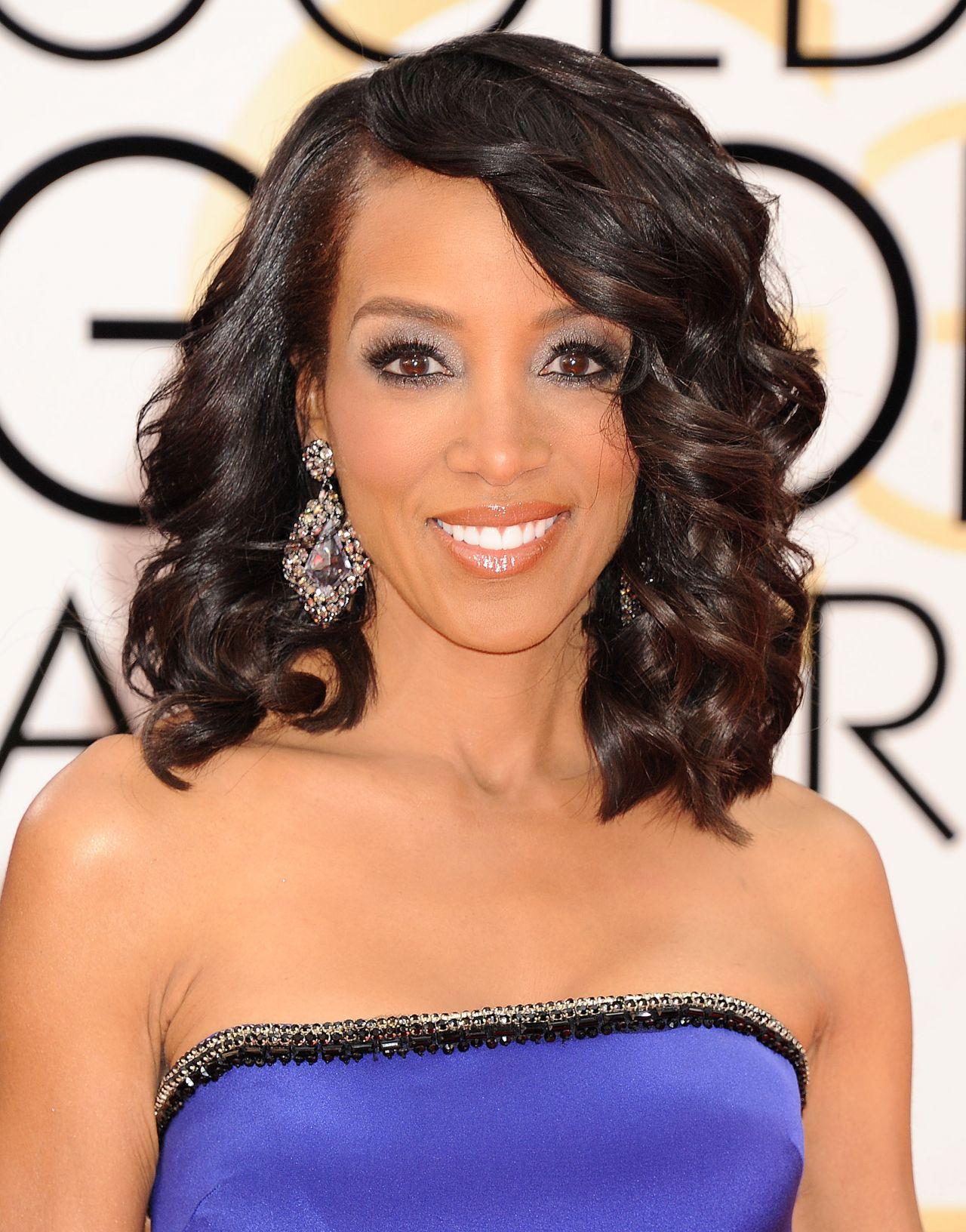 Shaun Robinson at Golden Globe Awards 2014 - shaun-robinson-at-golden-globe-awards-2014_3