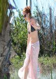 Sienna Miller Bikini Candids - Mexico, January 2014