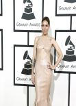 Skylar Grey at 2014 Grammy Awards Red Carpet