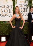 Sofia Vergara on Red Carpet - 2014 Golden Globe Awards