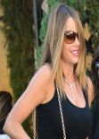 Sofia Vergara Street Style - Leaving Il Pistaio Restaurant in Beverly Hills, January 2014