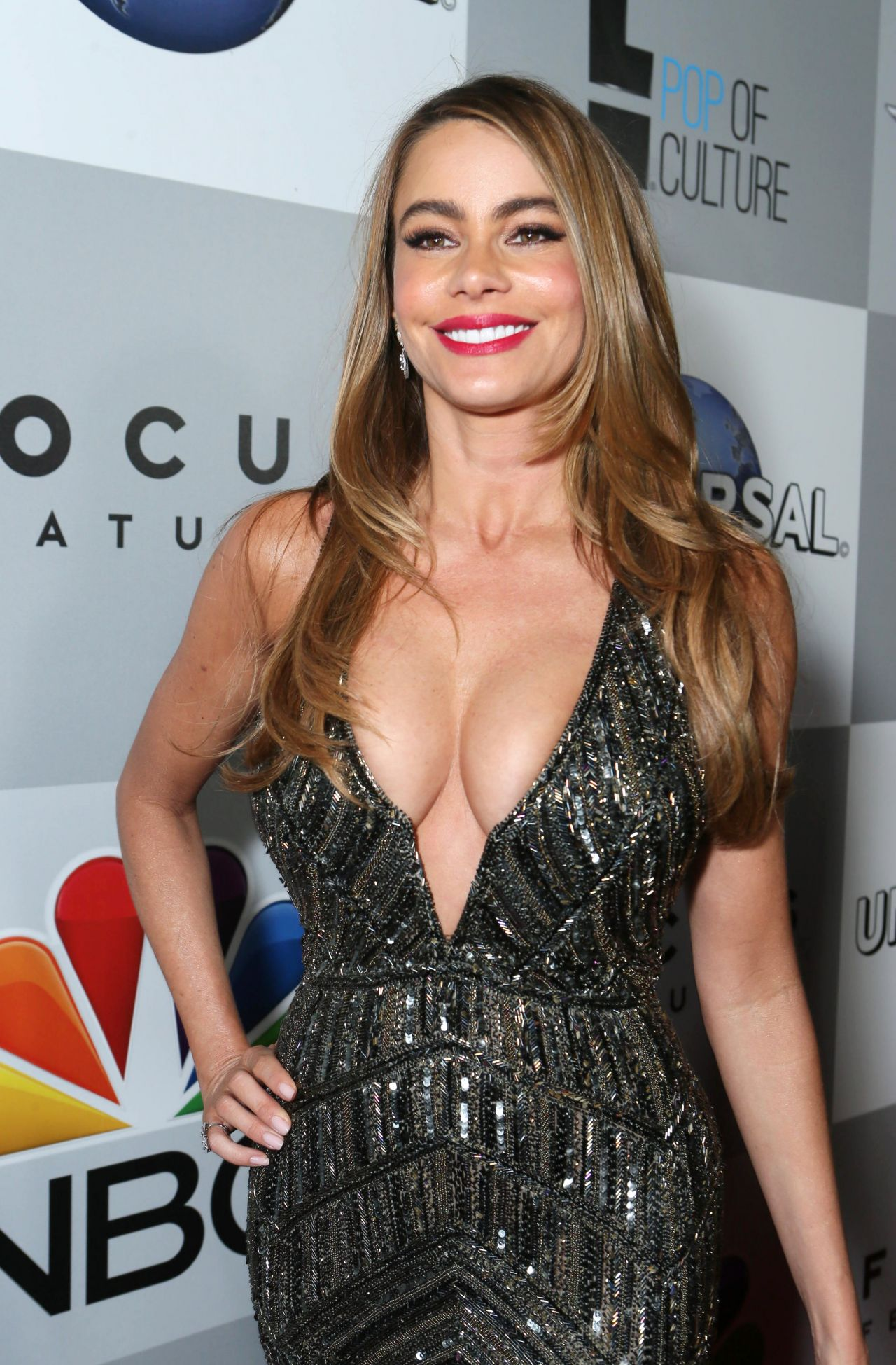 Sofia Vergara - The NBC 2014 Golden Globe After Party in Beverly Hills
