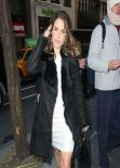 Sophia Bush Candids - Today Show in New York City
