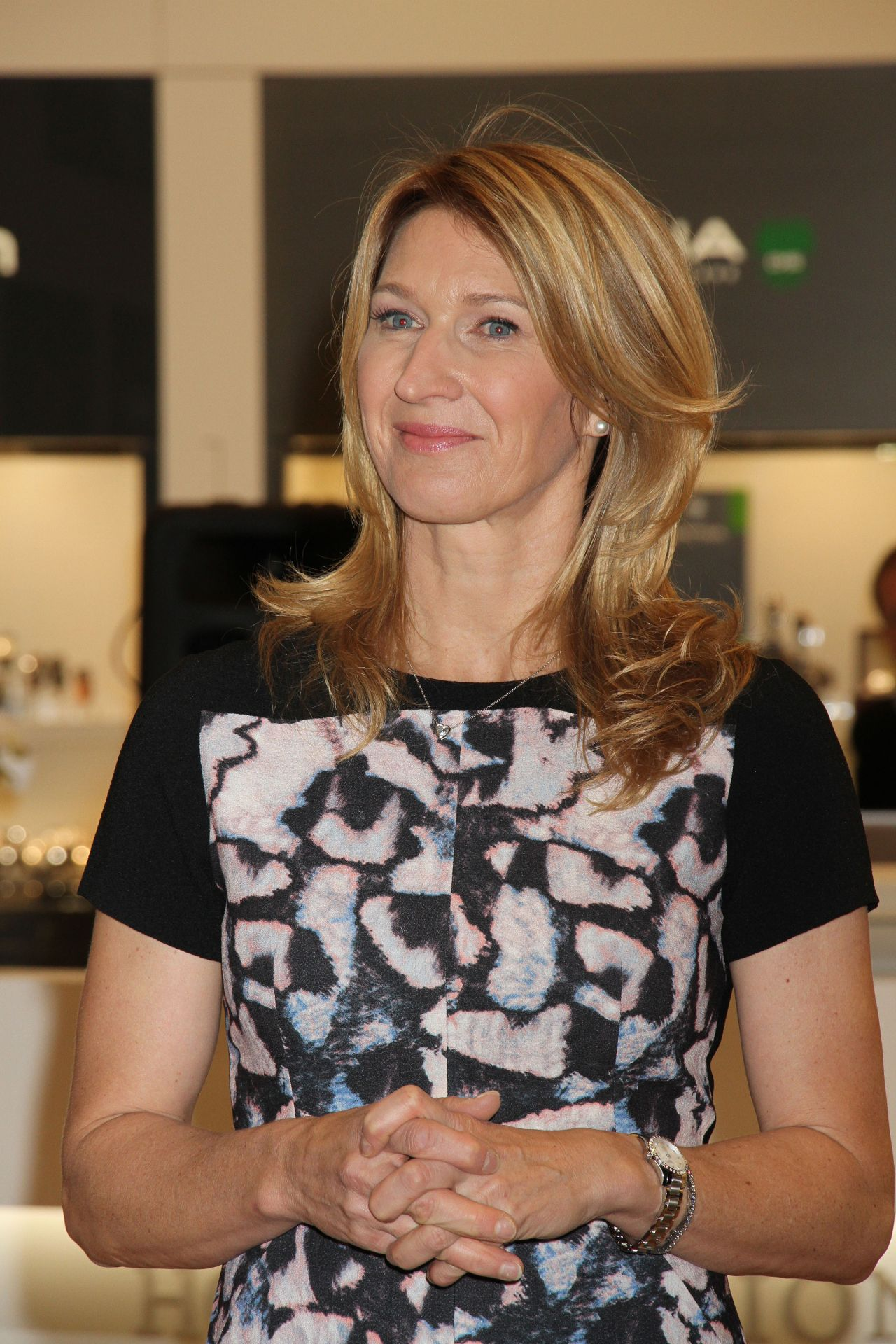 Steffi Graf Hour Passion Boutique opening at Aria Resort