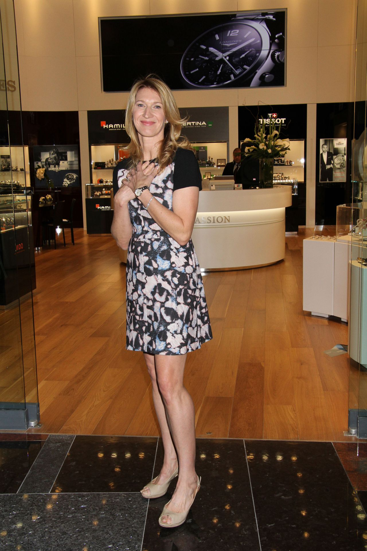 Steffi Graf Hour Passion Boutique Opening At Aria