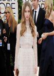 Taissa Farmiga on Red Carpet - 2014 Golden Globes Awards