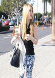 Tara Lipinski Street Style - Universal City, January 2014