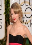 Taylor Swift - 2014 Golden Globe Awards Red Carpet
