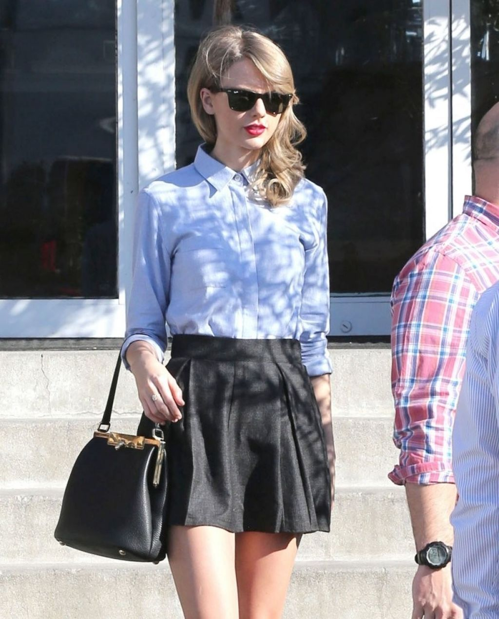 Taylor Swift Street Style Culver City January 2014