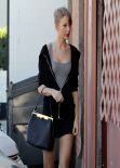 Taylor Swift Street Style - Heading to a Dance studio in Los Angeles, January 2014