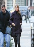 Taylor Swift Street Style - Looking for Appartment in New York, January 2014