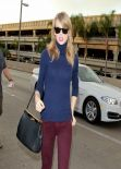 Taylor Swift Style - LAX Airport, January 2014